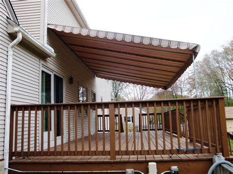 awning decorations deck awning ideas permanent deck awnings ideas three