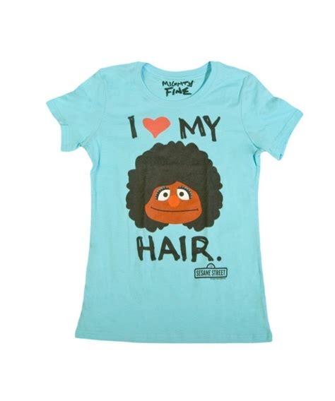 Sesame Shirt womens sesame my fro hair t shirt sesame tees