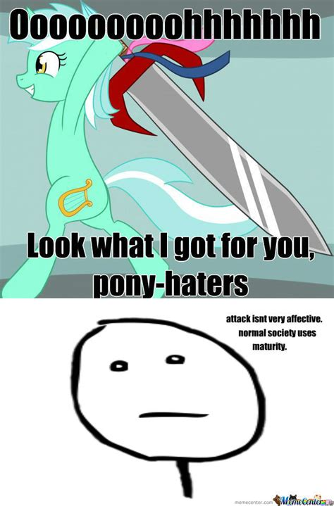 Bronies Meme - rmx for anti bronies by fischgut99 meme center
