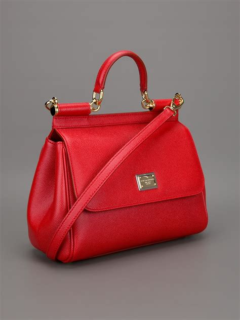 Dg Dolce And Gabbana Suzanne Satchel by Dolce Gabbana Small Sicily Bag In Lyst