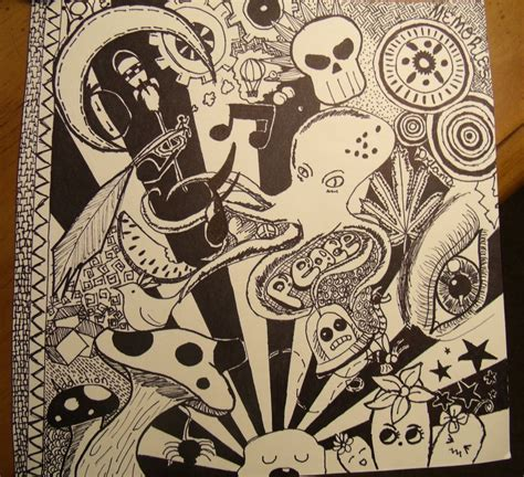 doodle drawings psychedelic doodles by vicarioussoul on deviantart