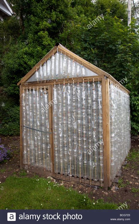 Plastic Bottle Shed by Recycle Greenhouse Made From Reused Plastic Bottles