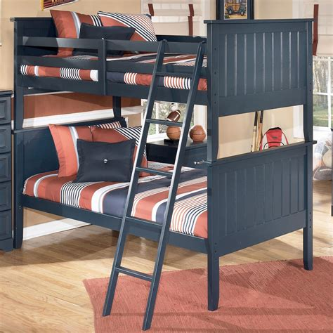 signature design  ashley leo leo twin bunk bed rotmans bunk beds