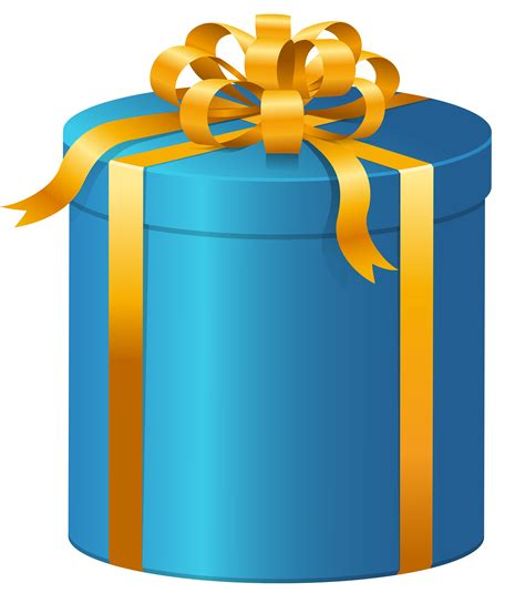 presents clip blue present clip cliparts