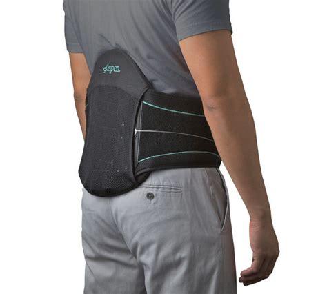 back brace aspen summit l0631 lumbar support back brace black new ebay