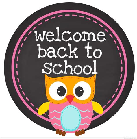 back to school clipart welcome back school sayings quotes 2015 2016