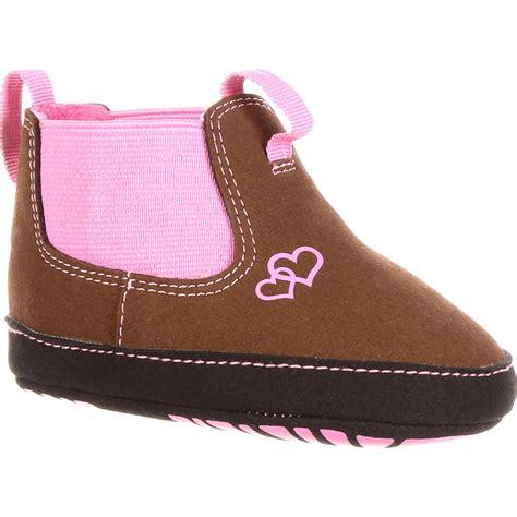 infant romeo pink shoe boot