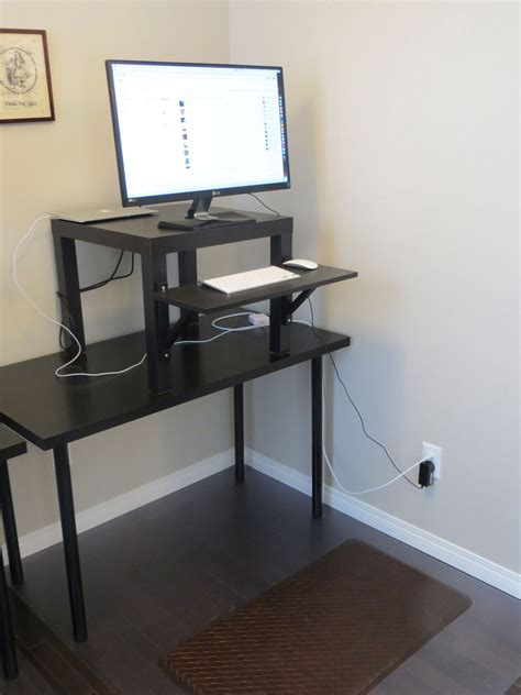 Standing Desk Ikea Working With Ikea Stand Up Desk Your Powerfully Homesfeed