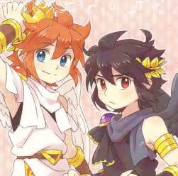 Pit and pittoo pit and dark pit pinterest dark kid icarus and