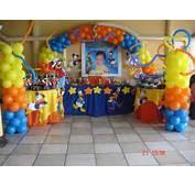 Arreglo En Globos Para Fiestas Infantiles  Imagui