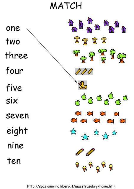 numeri in lettere inglese cantiamo con numeri lettere e colori la biblioteca dei