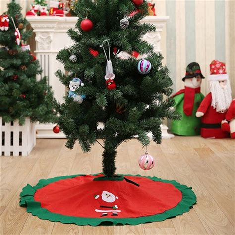 70 inch christmas tree skirt 70 100cm tree skirt embroidered non woven tree skirt trees ornaments