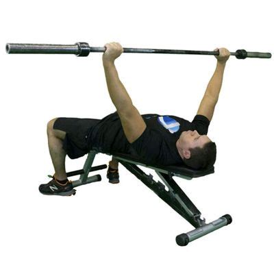 wide grip barbell bench press alternate seated dumbbell curl exercise how to workout