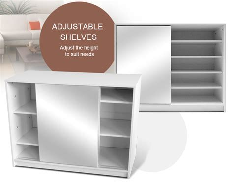 sliding door shoe cabinet 25 pair mirrored sliding door shoe cabinet white sales