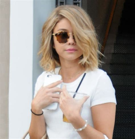 sarah hyland blonde sarah hyland is working the most gorgeous blonde hue her