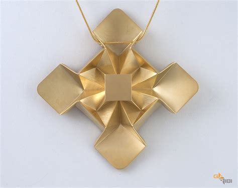 Origami Jewelry - beautiful origami jewelry