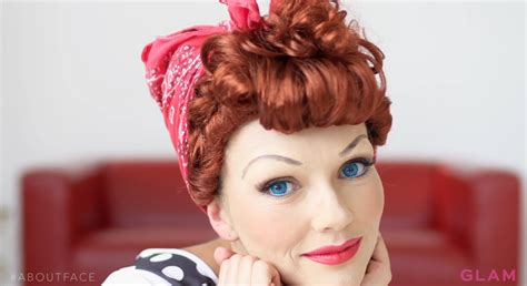 lucy o ball lucille ball makeup transformation with kandee johnson