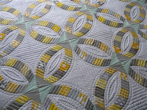 124 best double wedding ring quilts images on pinterest