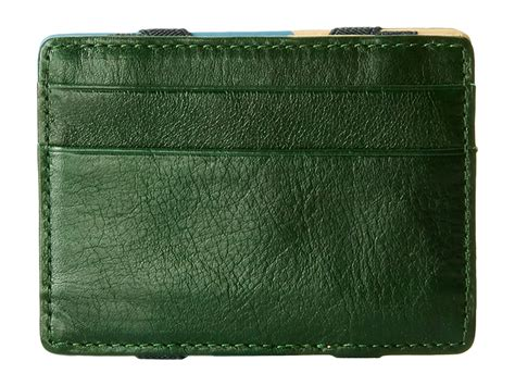 Fossil Wallet Green fossil fuller magic wallet in green for lyst
