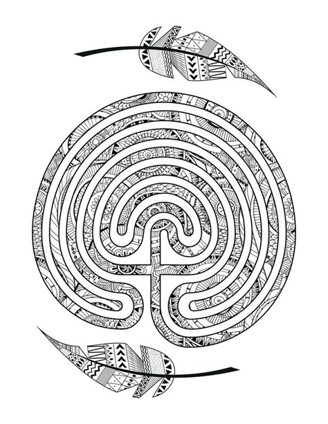 labyrinth worm pages coloring pages
