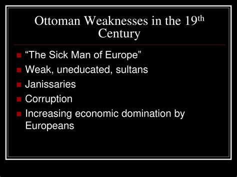 strengths and weaknesses of the ottoman empire ppt latin america civilizations in crisis russia and