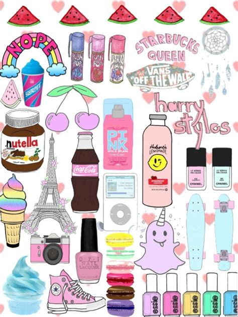 wallpaper girl things tumblr overlays transparent collage بحث google