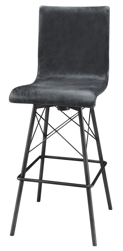 Leather Counter Stools With Nailheads by White Leather Bar Stools With Nailheads White Center