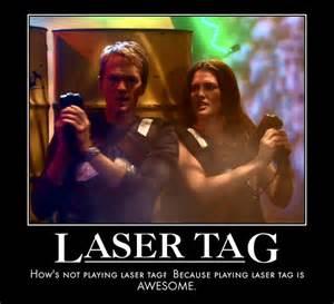 Lazer Tag Meme - legendary laser tag player quot barney stinson quot as a halloween