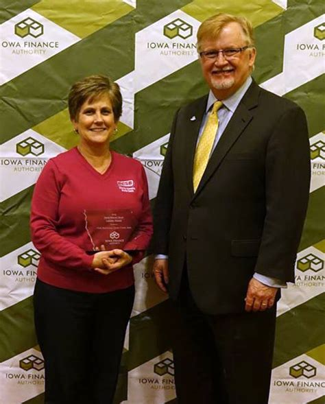 CCSB?S VICKY HALVORSEN RECOGNIZED BY IOWA FINANCE AUTHORITY