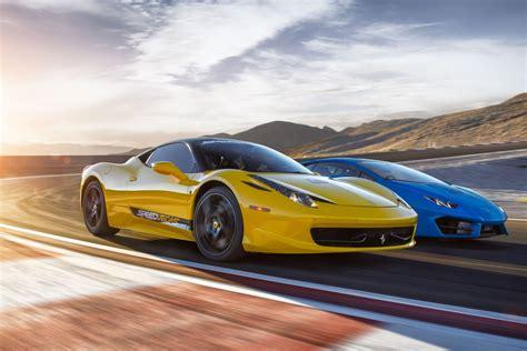 Ferrari World Drive A Ferrari by Drive A Ferrari On Track In Vegas Speedvegas