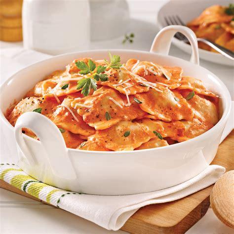 cuisine tomate raviolis au veau sauce cr 233 meuse aux tomates s 233 ch 233 es