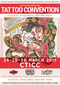 Tattoo Convention Tickets | south african international tattoo convention tickets now