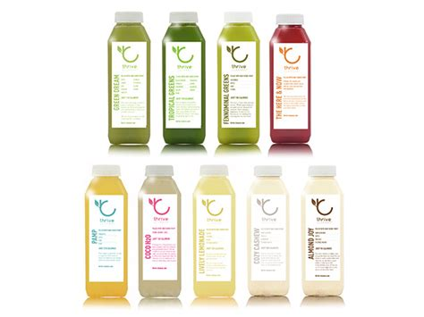 Detox Thesaurus by We Try The Juices From Thrive In San Francisco Serious Eats