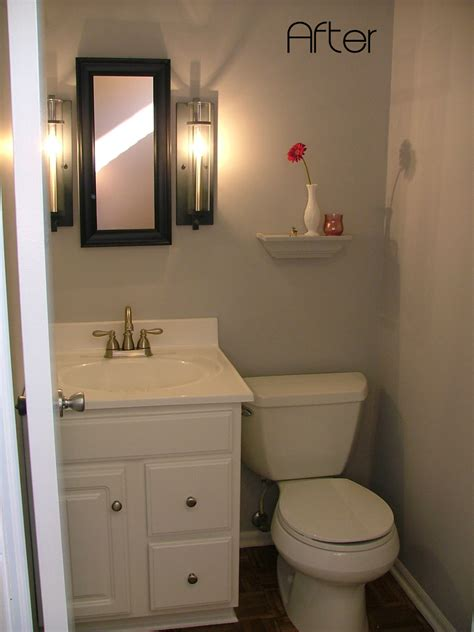 Remodel Small Bathroom Designs Idea Half Bathroom Remodel Photo 5 Design Your Home