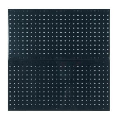 locboard 3 8 in black pegboard wall organizer lb18 bk