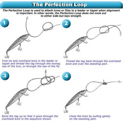 nudo pesca el nudo de lazo preferido para pesca de altura perfection