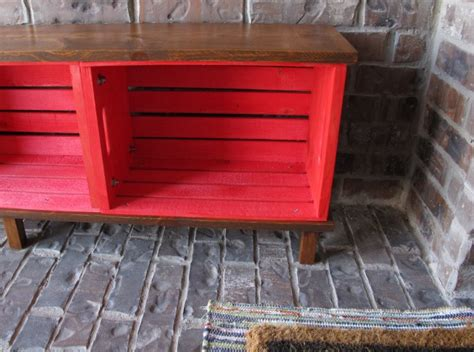 crate bench diy crate bench hometalk
