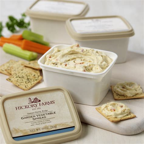Hickory Farms Garden Vegetable Cheese Spread Hickory Farms Garden Vegetable Cheese Recipe