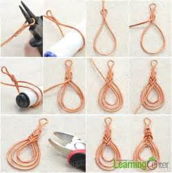 Craft Knots - step 1 wire wrap pipa knot jewelry i want to make