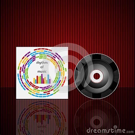 cd cover design vector vector cd cover design template royalty free stock images