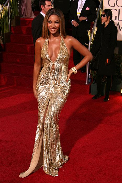 2007 Golden Globes Back To The Makeup Chair For You by Beyonc 233 Knowles S Best Style Hits Photo 20