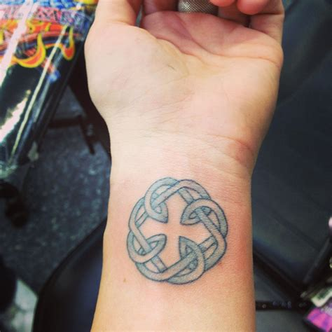 father daughter tattoo celtic symbol because my