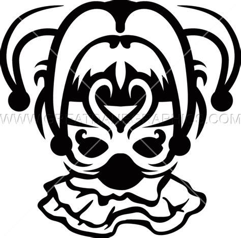 Jester Mask Template by Jester Mask Template Choice Image Template Design Ideas