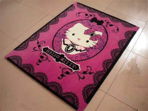 hello kitty rugs for bedrooms cute cartoon hello kitty children retro carpet bedroom
