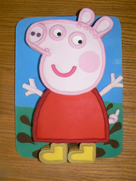 peppa pig cake template free pin peppa pig template cake on