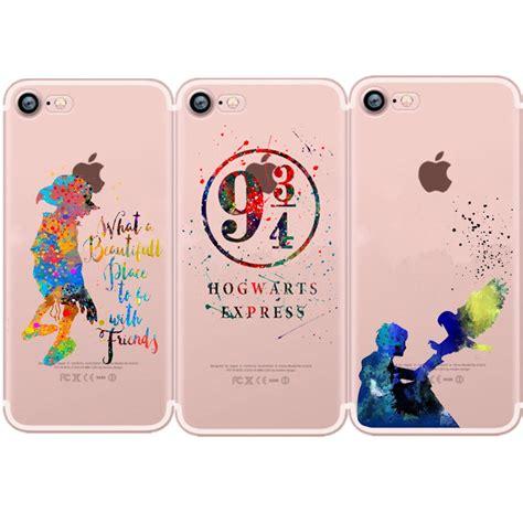 Hoghwarts Harry Potter Casing Samsung Iphone 7 6s Plus 5s 5c 4s lovina cases harry potter platform 9 3 4 hogwarts expres for iphone 8 8plus soft clear for