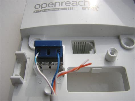 wiring diagram for bt openreach master socket insulation
