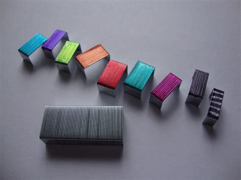 colored staples make colored staples 187 dollar store crafts