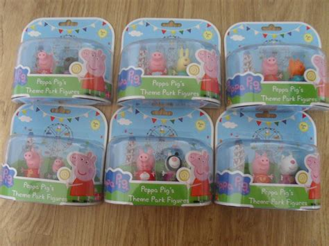 Peppa Pig Amusement Park Zy 667 2 bnib peppa pig s theme park collectable 2 pack of figures ebay