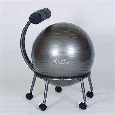 Fitball Chair by Fitball Pkg Fbchair Stability Chair